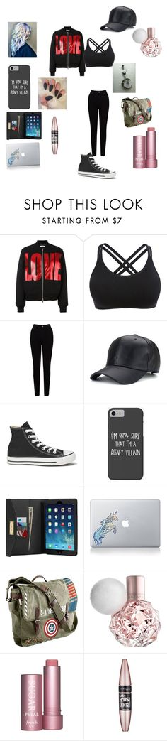"""""""off days"""" by kristyng03 ❤ liked on Polyvore featuring Givenchy, EAST, Converse, Disney, MICHAEL Michael Kors, Vinyl Revolution, Marvel and Maybelline"""