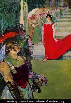 Messaline - Henri De Toulouse-Lautrec - www.toulouse-lautrec-foundation.org