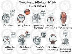 PANDORA Winter / Christmas Collection 2014 Preview - Christmas