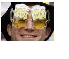 Gift Sunglasses Beer Goggles Gamago Drink 6 Bottle Party Set Markers New