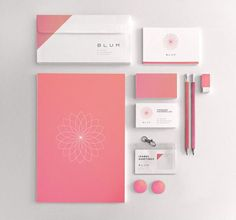 BLUM by Diego Leyva, via Behance – Design is art Collateral Design, Corporate Identity Design, Letterhead Design, Stationary Design, Brand Identity Design, Graphic Design Branding, Graphic Design Posters, Advertising Design, Lettering Design