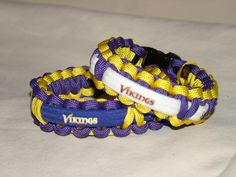 Minnesota Vikings NFL Survival 550 Paracord Bracelet