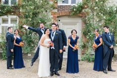 fun bridal party pic by jenny owens photography hampshire wedding photographer