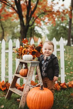 Fall Mini Session Autumn Pictures Outside Props Abby Schafer Photography props Samantha - Fall Mini Fall Baby Pictures, Fall Family Photos, Autumn Pictures, Fall Baby Pics, Fall Pictures With Pumpkins, Baby Pumpkin Pictures, Toddler Pictures, Children Pictures, Fall Pics