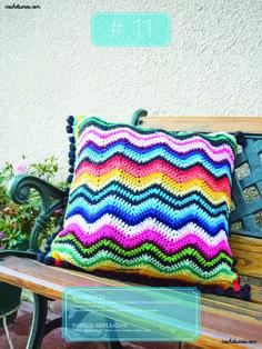 Crochet Almohadones #11 Blanket, Bags, Dom, Throw Pillows, Tejido, Pillow Design, Handbags, Blankets, Cover