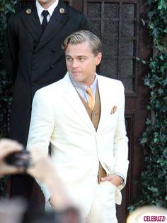 Leonardo Di Caprio in The Great Gatsby, 2012