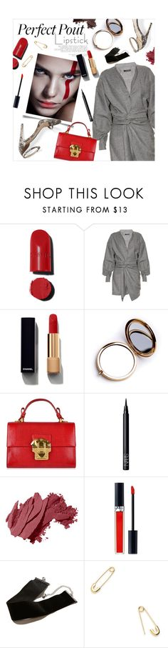 """""""Glam at night"""" by magdafunk ❤ liked on Polyvore featuring beauty, Chanel, Isabel Marant, M. Gemi, Odeme, Dolce&Gabbana, NARS Cosmetics, Bobbi Brown Cosmetics, Christian Dior and Hollister Co."""