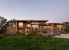 Portola Valley Residence by Tobin Dougherty Architects