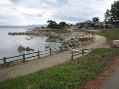 Monterey Bay Coastal Bike Trail - Monterey, California (click for more info)