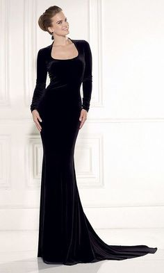R70214 High quality velvet long sleeve sexy party dresses women Lace back floor-length plus size dress elegant women dress