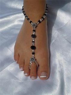 JEWELS BY KATHY - FOOT SANDALS BEACH JEWELRY