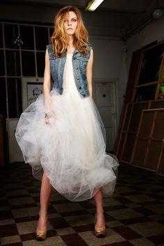 Ewa Morka wedding dress photo: Michal Greg