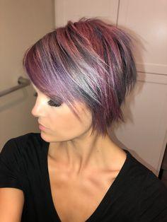 @krissafowles short hair unicorn hair
