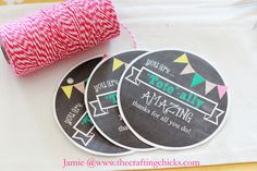 Tote-ally Amazing teacher....cute to put with a thirtyone tote!!