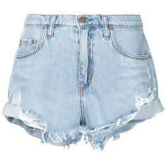 Nobody Denim Boho Short Blessed (2,830 MXN) ❤ liked on Polyvore featuring shorts, bottoms, blue, boho shorts, blue shorts, blue short shorts, destroyed shorts and relaxed fit shorts