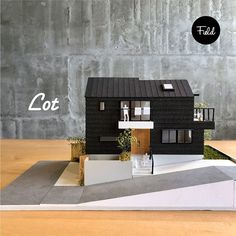 Maquette Architecture, Architecture Model Making, Lego Architecture, Model Building, Mcm House, Arch Model, Small House Plans, Booth Design, Model Homes
