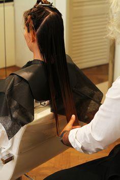 taglio capelli lunghi parrucchiere - Irene Colzi - Cura capelli: ecco i trattamenti che ho provato da Goran Viler #hair & SPA a #Trieste - Irene's Closet