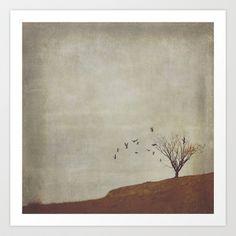 #photography #art #artsy #artistic #texture #mood #tree #singletree #birds #collage #fall #beautiful #landscape #square #decor #homedecor #bathroom #kitchen #bedroom #case #wallart #elegant #KatayoonPhotography #KatayoonDesign