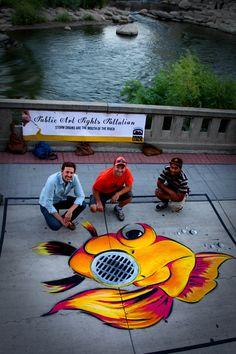 Reno, NV: Biggest Little City - Public Art Fights Pollution  Photo Taken by @Natalie Lumbo