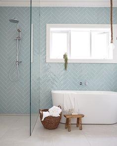 Bathrooms Design:Grey Subway Tile Metro Wall Tiles Black And White Bathroom Floor Tiles Green Glass Subway Tile Gray Subway Tile Shower blue subway tile bathroom Bathroom Floor Tiles, Wood Bathroom, Bathroom Colors, Modern Bathroom, Bathroom Ideas, White Bathroom, Wall Tiles, Subway Tiles, Shower Tiles