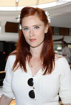 Audrey Fleurot à Paris, le 29 juin 2014. (lk Cath Tate or Julianne Moore, but better))