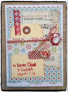 Ingrid's scrapfrutsels: Christmas in July (2)