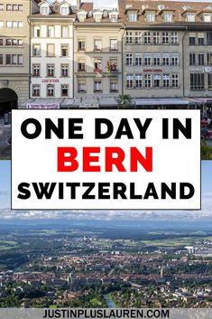 Bern is a beautiful city in Switzerland with a charming old town, a gorgeous river and mountains. Here are all the best things to do in Bern, Switzerland so you can spend an amazing day in Bern.   #Bern #Switzerland #Itinerary #TravelGuide #Travel #CityBreak #CityGuide   Things to do in Bern | What to do in Bern | Places to visit in Bern | What to see in Bern | 1 day in Bern | Bern one day | Bern itinerary | Bern travel guide | Bern city guide Switzerland Travel Guide, Switzerland Itinerary, Switzerland Cities, Visit Switzerland, European Travel Tips, Europe Travel Guide, Travel Guides, Europe Destinations, Cool Places To Visit