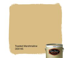 Dunn-Edwards Paints paint color: Toasted Marshmallow DE6165   Click for a free color sample