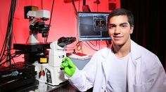 """Biosensors are devices that can detect biological molecules (""""analytes"""") in air, water, or blood. They are used widely in drug development, medical diagnostics, biological research, and even security. Despite ongoing advancments, there remains a need for improved portable biosensing devices that..."""