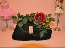 Red Rose Lace Bag