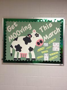 March FACS or Health bulletin board