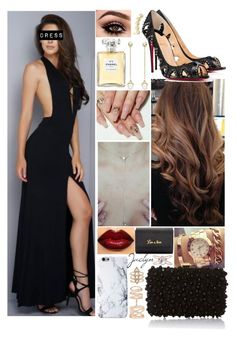 """{Après la Fête//Jaclyn}"" by leadingladyx17 on Polyvore featuring Rebecca Minkoff, Kendra Scott, Luna Skye, Christian Louboutin, Chanel, Elie Saab and Repossi"