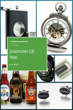 Groomsmen Gift Ideas - Need help coming up with groomsmen gift ideas?  #groomsmen #GiftIdeas #wedding #GroomsmenGifts