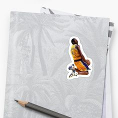 Buy 'Kobe Bryant Tribute by Unbeatable Apparel as a Sticker, Transparent Sticker, or Glossy Sticker Transparent Stickers, Kobe Bryant, Glossier Stickers, Art Prints, Printed, Awesome, Artist, People, Products