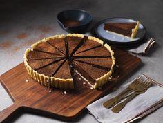 Chocolate Cheesecake Recipe | Carnation Tart Recipes, Baking Recipes, Dessert Recipes, Milk Recipes, Chocolate Cheesecake Recipes, Pumpkin Cheesecake, Chocolate Fondant, Melting Chocolate, Easy Lemon Tart Recipe