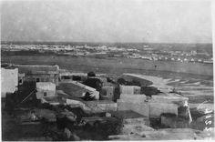 Panorama de Rabat et de Salé : le chenal et l'entrée du port. Au premier plan le vieux quartier arabe  1916.05.19