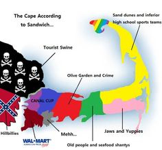 how sandwich sees cape cod