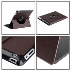 Quality Stand Case Smart Cover for the new iPad (360 Degrees Rotatable)