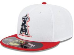 MLB 2013 Los Angeles Angels Anaheim July 4th Stars Stripes New Era 59FIFTY  Hat 68de8d64767