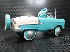 *PEDAL CAR ~ 1955 Chevy Bel Air PHOTO Fantasy Photo ART Deco Vintage Hot Rod Pedal Show Race Car 172