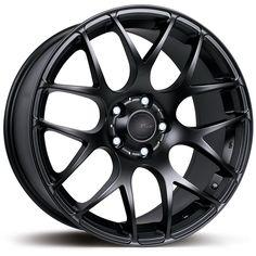 19 inch #STAGGERED FX MS007 5x120 BLACK 5 stud Seat #Skoda VW  alloy #wheels