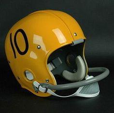 Miami Hurricanes 1959-63 'George Mira' Authentic Vintage Full Size Helmet