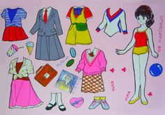 paper dolls | Tumblr * Google for Pinterest pals1500 free paper dolls at Arielle Gabriels The International Paper Doll Society also Google free paper dolls at The China Adventures of Arielle Gabriel *