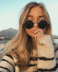striped sweater vibes