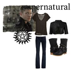 Girl version of Dean (Jensen Ackles) from the CW18 show Supernatural. <3