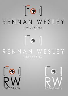 Logotipo criado a um cliente profissional de fotografia.