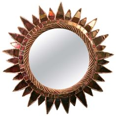 """Line Vautrin, Sun Mirror No.1 """"Soleil à Pointes N°1"""" 
