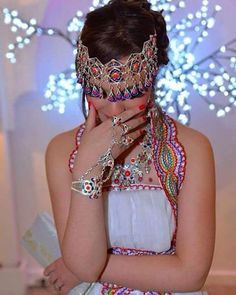 Algerian Fashion Berber dress