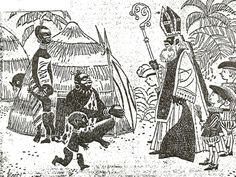 Wanroij 1963: hoofdonderwijzer eist witte knecht voor Sint - NPO Geschiedenis