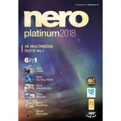 Nero Platinum is free software that tools for organizing, editing, converting, playing, and of course burning your media files.